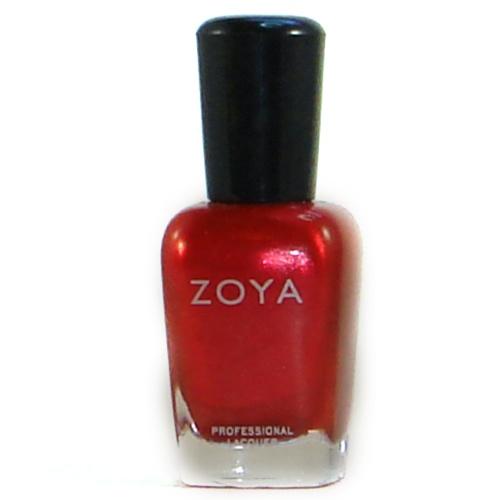 Zoya in Kamilah  Perfect red for me Zoya Kamilah