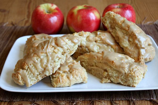 Caramel Apple Scones! These look so good!