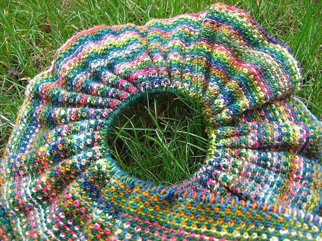 Crochet Patterns Linen Yarn : ... : Koigu Linen Stitch Scarf pattern by Churchmouse Yarns and Teas