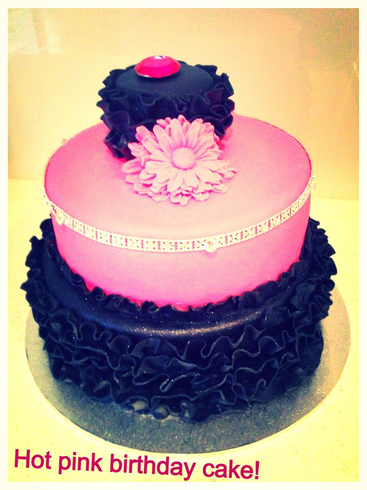 Hot Pink Cake Images : Hot Pink Birthday Cake Ideas 30486 Ladies Hot Pink Birthda