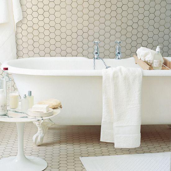 New Stunning Decor Of Bathroom Floor Tiles Honeycomb Ideas In Maximizing