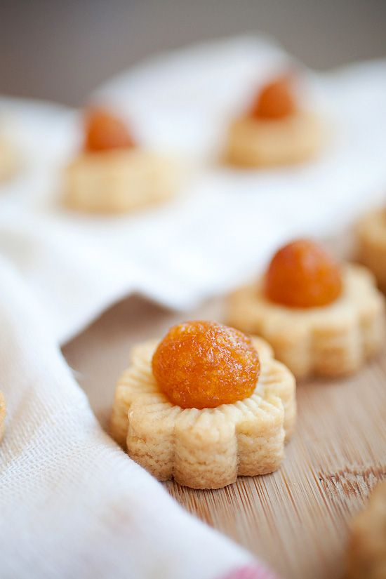 Pineapple Tarts for Chinese New Year on 1/31. #tarts #pineapple