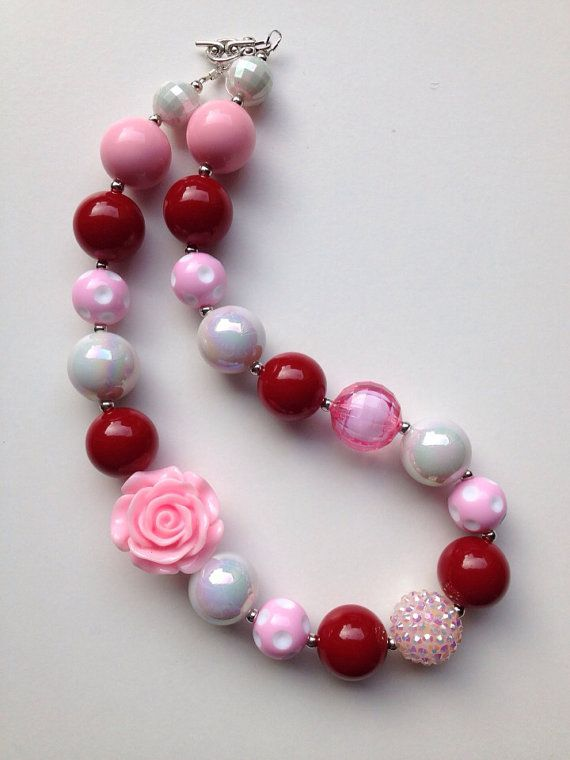 valentine beaded jewelry