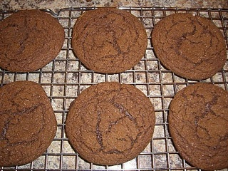 Spicy Gingerbread Cookies. These look good.