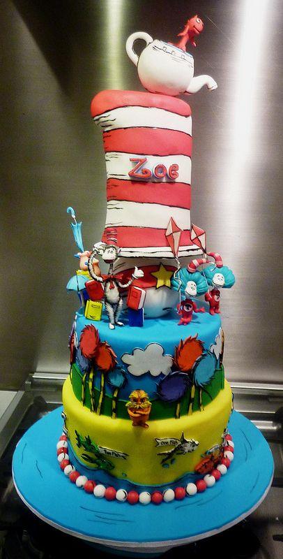 Southern Blue Celebrations: DR SEUSS CAKE IDEAS & INSPIRATIONS