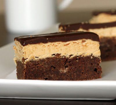 cappuccino brownies | food | Pinterest