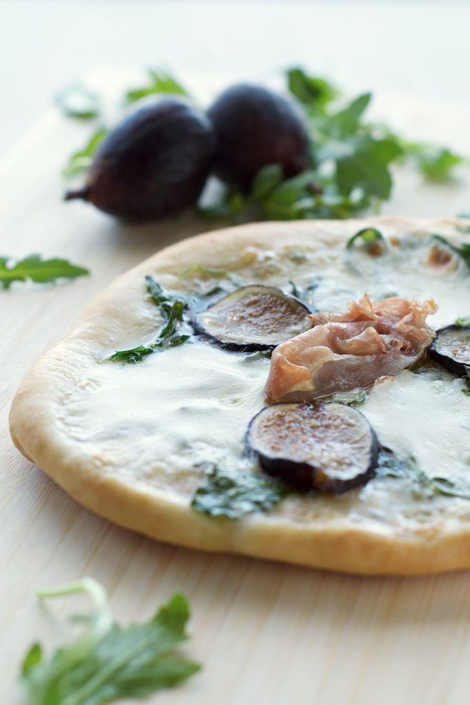 Fig + Prosciutto Pizza — A great thin crust pizza dough recipe ...