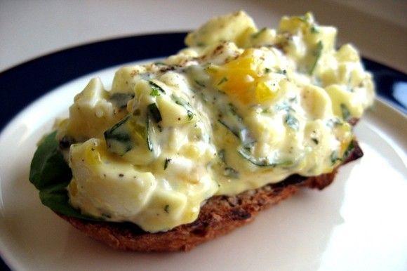 Tarragon Egg Salad Recipe — Dishmaps
