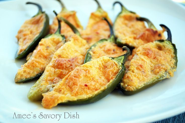 Spicy Cheese Stuffed Peppers
