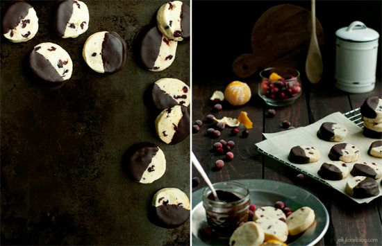More like this: cranberry orange , chocolate dipped and shortbread .