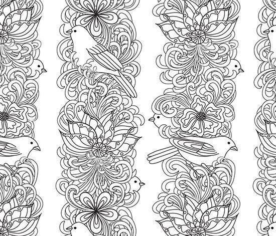 coloring pages hard secret garden - photo#23