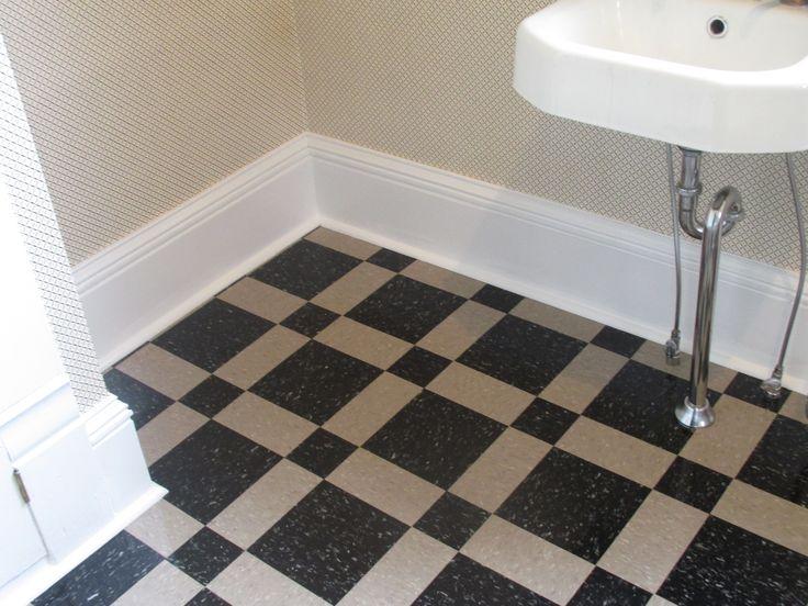 Stripping tile floors