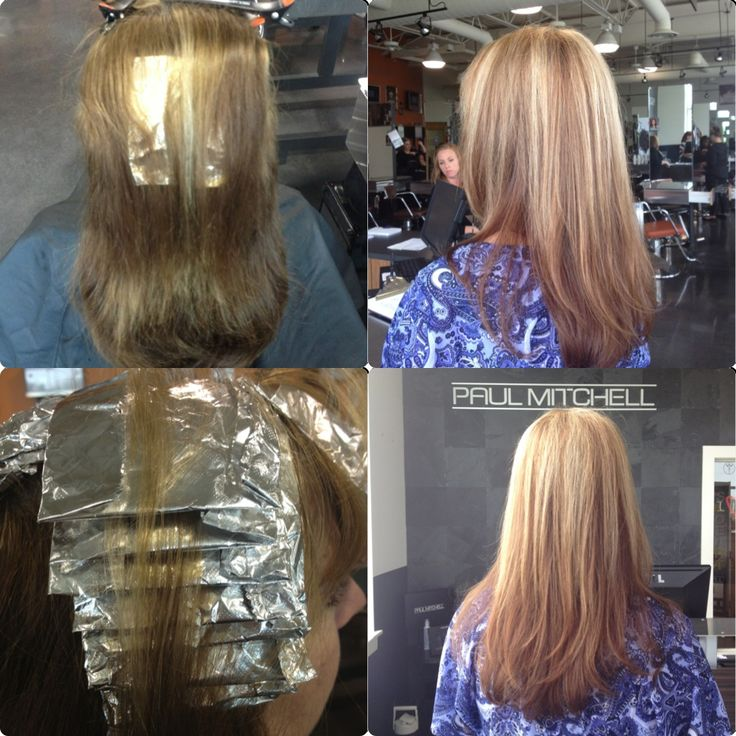 Partial Foil | HAIRSTYLE GALLERY