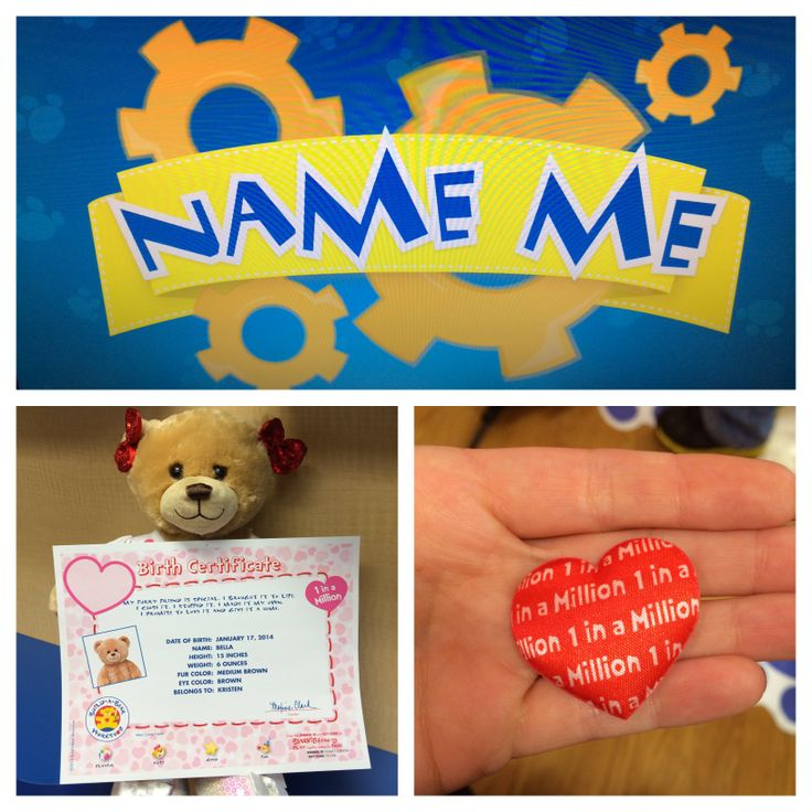 build a bear valentine's day cards