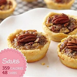 ... Mini Maple Pecan Pie, buy mini cream puffs, or downsize your own