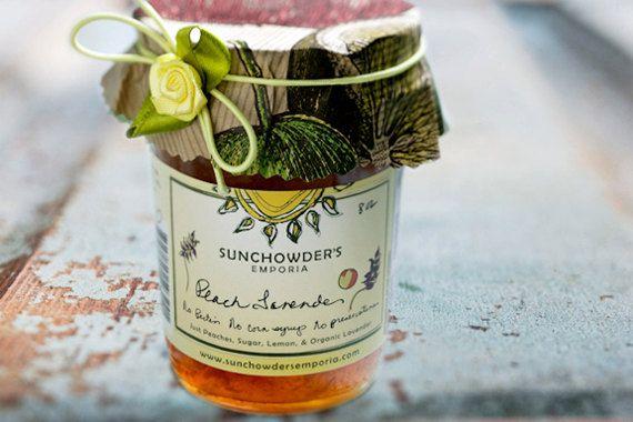 Peach Lavender Jam by SunchowdersEmporia on Etsy, $8.95