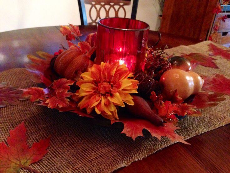Thanksgiving table decor centerpiece photograph thanksgivi