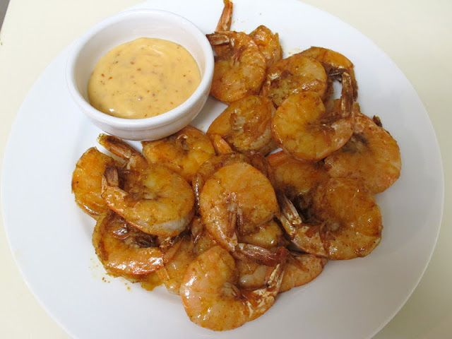 Believe I Can Fry: Spicy Shrimp with Sweet Chili Mayo