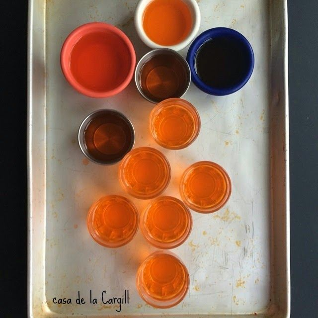 Creamsicle Jell-o Shots | Spoonful of Foodies | Pinterest