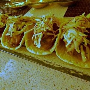 oyster tacos