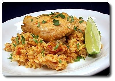 Chipotle Chicken and Rice... | Dinner | Pinterest
