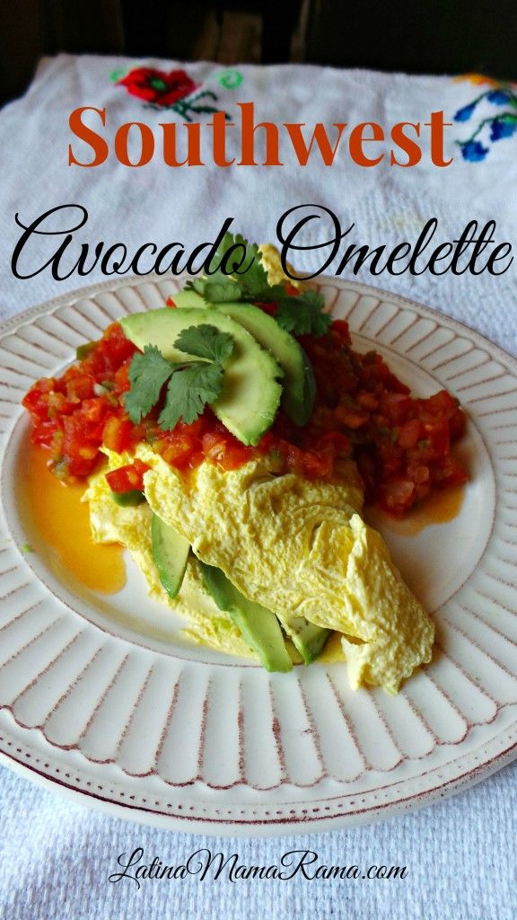 ad Love Avocados? This Southwest Avocado Omelette is for you! Easy to ...