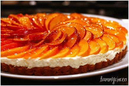 Nectarine, Mascarpone And Gingersnap Tart Recipe — Dishmaps