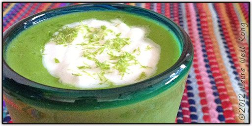 Sublime Lime Smoothie ~ vegan, refined sugar-free, gluten-free ...