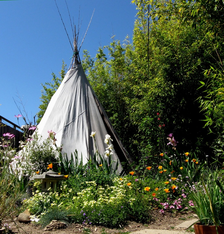 backyard teepee must have for the kids pinterest