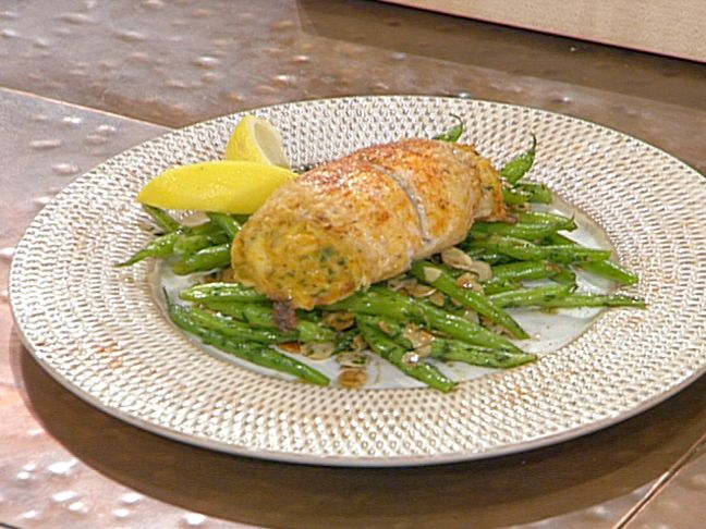Crabmeat-Stuffed Flounder Roulades from FoodNetwork.com
