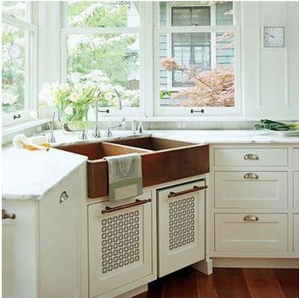 Corner Sink Cabinet Size Kitchens Pinterest