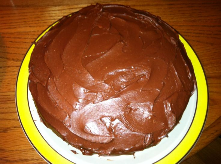 Chocolate Sheet Cake With Sour Cream Frosting Recipe — Dishmaps