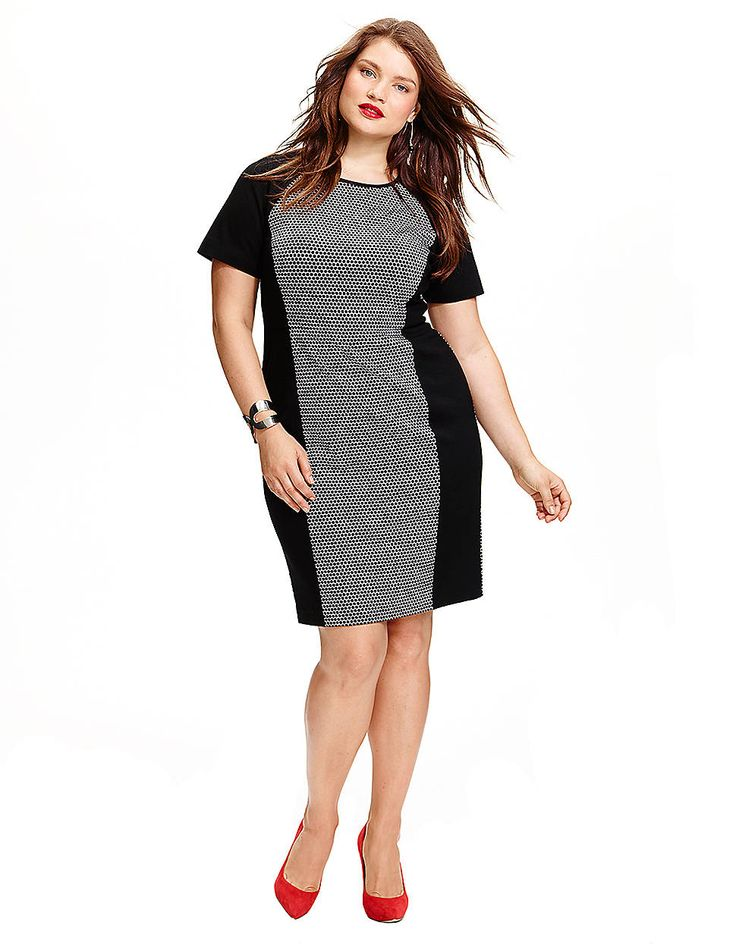 plus size dresses with short sleeves