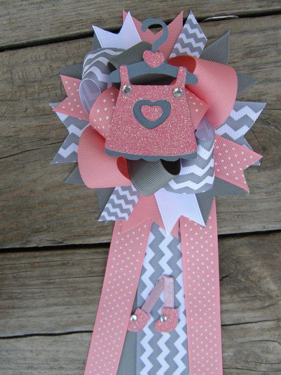 baby shower mum baby girl baby shower corsage baby shower pin