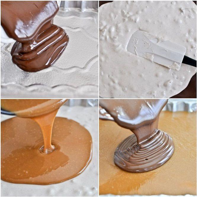 homemade snickers bars. | yum! | Pinterest