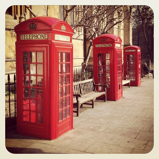 Classic phone boxes from @bensouthgate