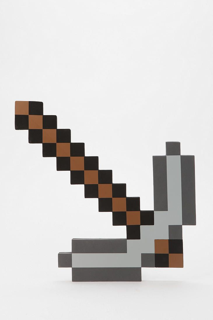 Foam Minecraft Pickaxe Seth Would Love This