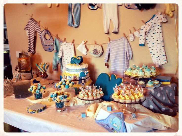 whale themed baby shower party ideas pinterest