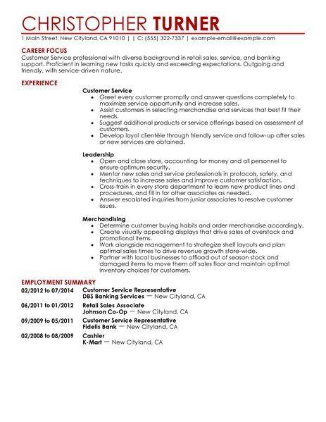 Resume Sample For Team Leader