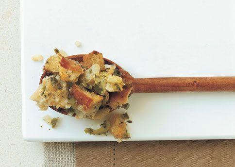 Rustic Herb Stuffing Recipe — Dishmaps