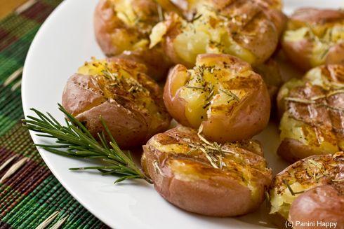 Smashed potatoes | Favorite Recipes | Pinterest