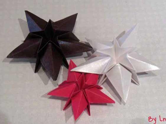 Bretteville on - Origami sapin de noel serviette ...