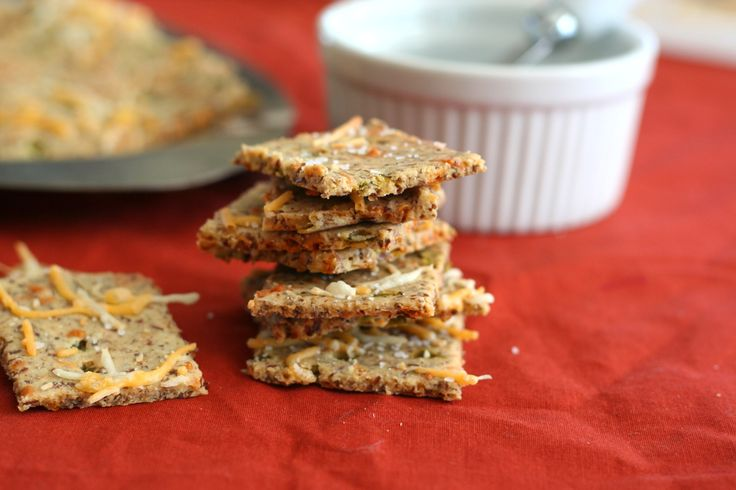 Cheddar Jalapeno Crackers 2 -low carb | Low carb recipes | Pinterest
