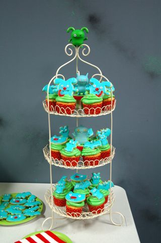 Ugly dolls cupcakes