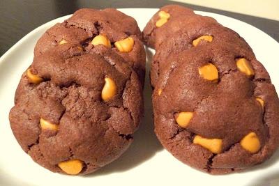 Chocolate Butterscotch-Chip Cookies | Food . . . mmmm | Pinterest
