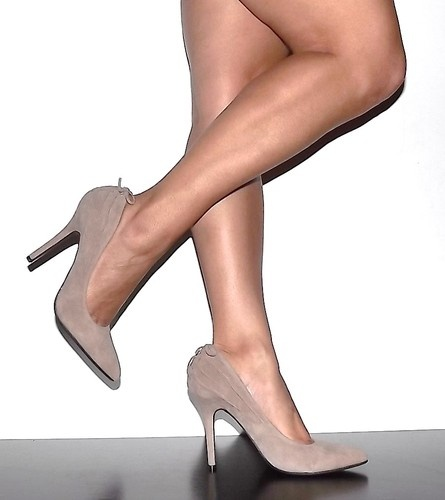 Nude Pointy Toe Pumps Hot Girls Wallpaper