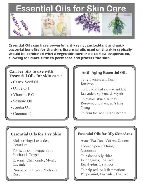 Essential oils for skin care essential oils pinterest - The best oils for the skin ...