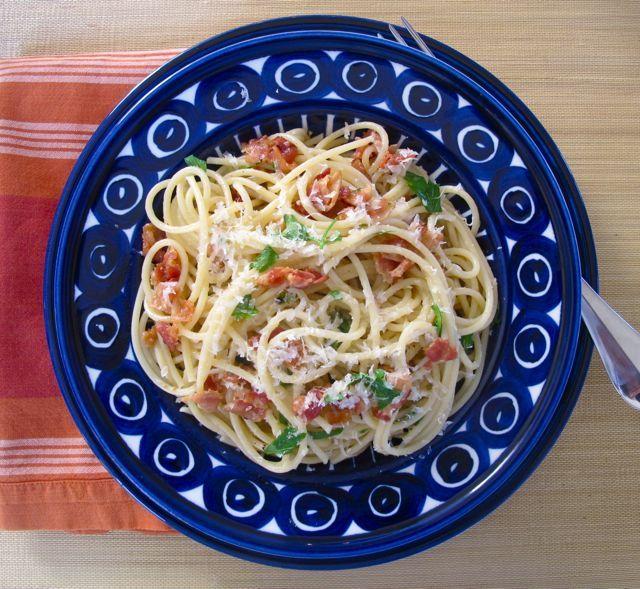 Spaghetti Carbonara | crafts/diy | Pinterest