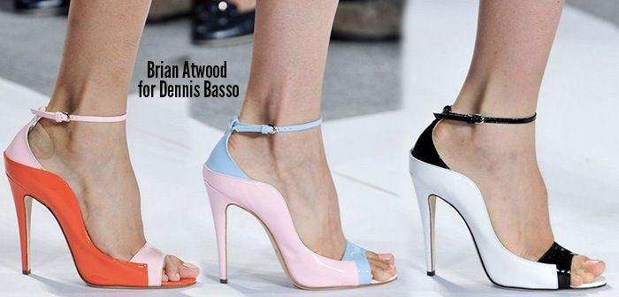 Dennis Basso Spring 2014 Shoes