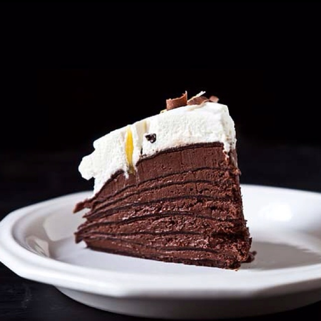 mousse cake spicy chocolate mousse crepe spicy chocolate mousse crepe ...